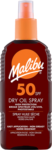 SPF50 Dry Oil Spray